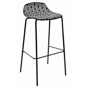 ALBA barová židle Amfora NAB - výška sedáku 77 cm