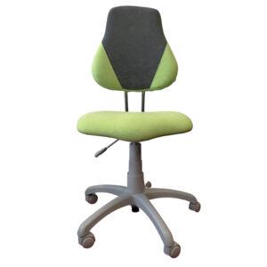 ALBA dětská rostoucí židle FUXO V-line sv. zelená + šedá