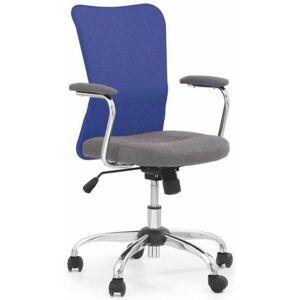 HALMAR dětská židle ANDY modrá