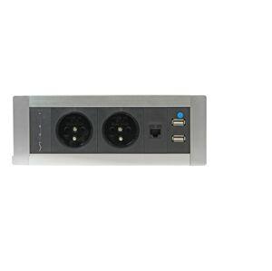 OFFICE PRO Elektrifikace Vault PTCZ 016 -Zásuvky přímo na vašem stole