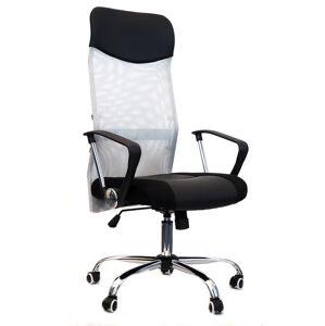MERCURY židle IDAHO šedá sítovina
