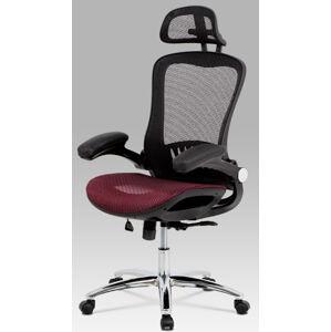 AUTRONIC kancelářská židle KA-A185 RED