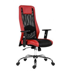 MERCURY kancelářská židle SANDER červený
