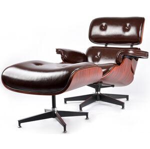PEIER Relaxační židle s podnožkou PE-F5D La-Ck