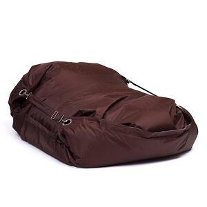 OMNIPULS Sedací pytel Omni Bag s popruhy Chocolate 191x141