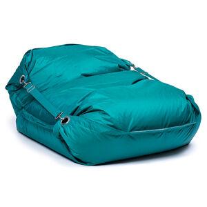 OMNIPULS Sedací pytel Omni Bag s popruhy Dark Green 191x141