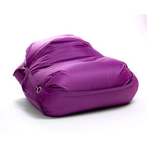 OMNIPULS Sedací pytel Omni Bag s popruhy Violet 191x141