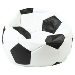 EL SAKC sedací vak EUROBALL MEDIUM bílo-černý
