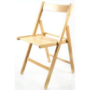 MERCURY skládací židle SMART PŘÍRODNÍ buk