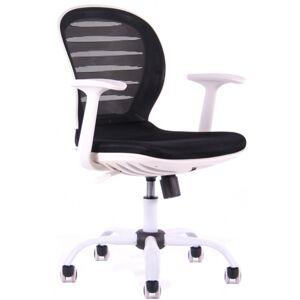 SEGO studentská židle COOL W, černobílá