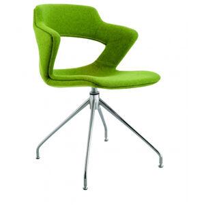 ANTARES židle 2160 TC Aoki ALU - čalouněný sedák