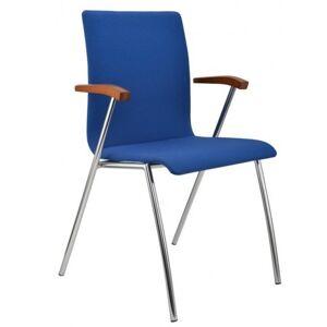 ALBA židle IBIS čalouněná s područkami
