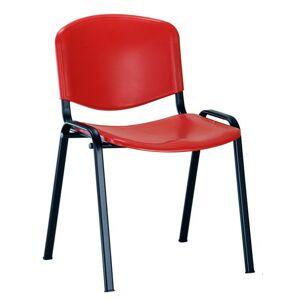ALBA židle ISO plast, kostra černá