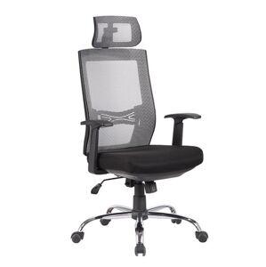 MERCURY židle MARIKA YH-6068H šedá