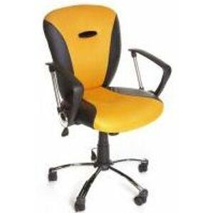 MERCURY židle MATIZEK YELLOW žlutá