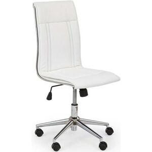 Halmar židle PORTO bílá