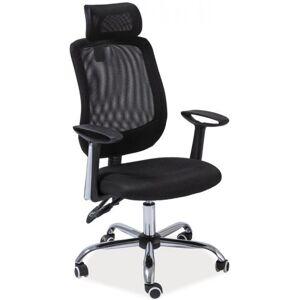 SEDIA židle Q118 černá