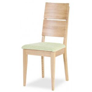 MI-KO židle Spring K2 dub masiv, látka