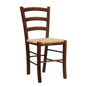 ALBA židle Venezia V, slaměný sedák